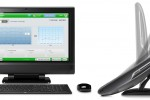 HP TouchSmart 610 and 9300 Elite all-in-ones get deep-tilting desk stand