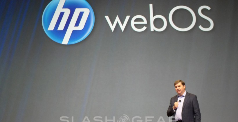 HP webOS PCs, printers & more promised