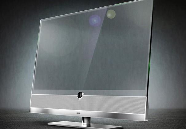 "No more ""big black blot"" with a Transparent TV"