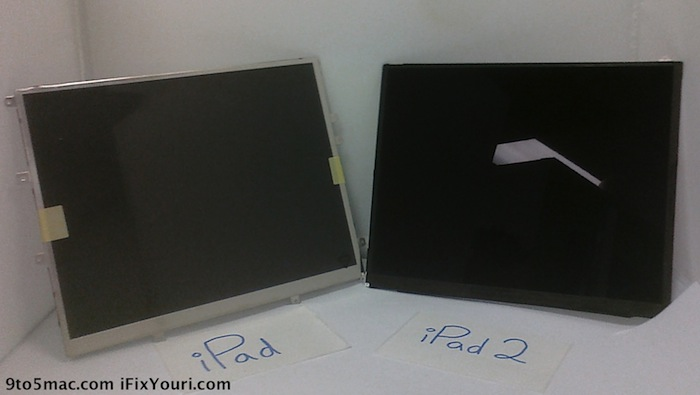 iPad 2 display reportedly leaks: thinner, lighter & smaller bezel