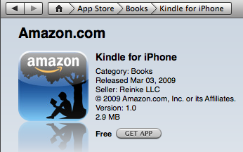 Apple's New App Store Rules Impact Amazon's Kindle App