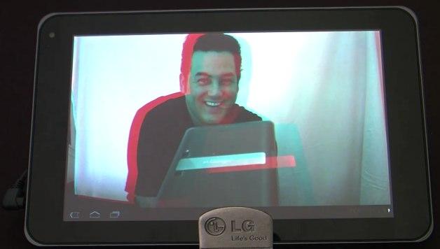 LG G-Slate makes video appearance: 3D, ports, more