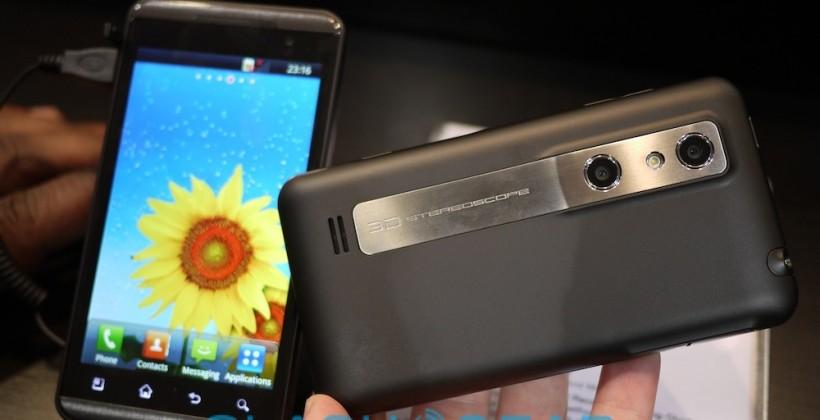 LG Optimus 3D hands-on [Video]