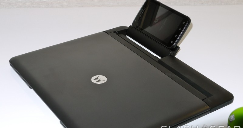 Motorola ATRIX 4G Unboxing and hands-on