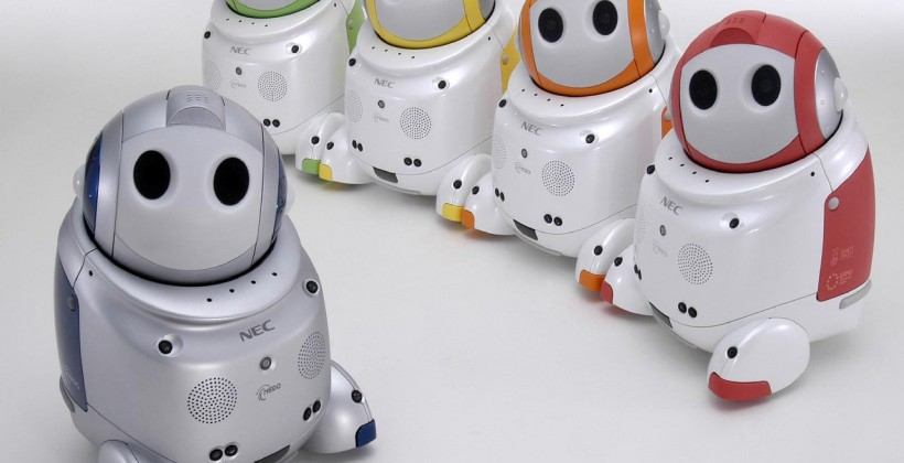 NEC PaPeRo robot coaxes out the elderly, researchers discover