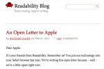 Apple's New Subscription Policy Upsets Readability App