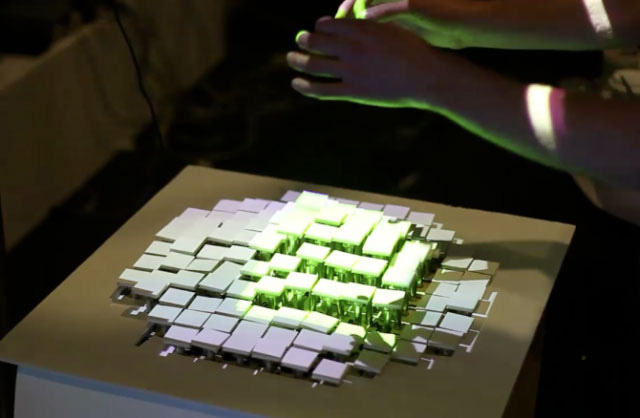 MIT Lab Creates Recompose, A Gesture Controlled Surface