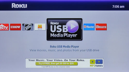 Roku announces official support for USB drives