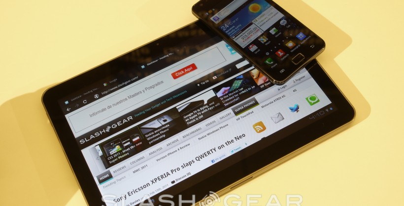 Samsung adds live TV streaming for Galaxy Tab 10.1 and Galaxy S II