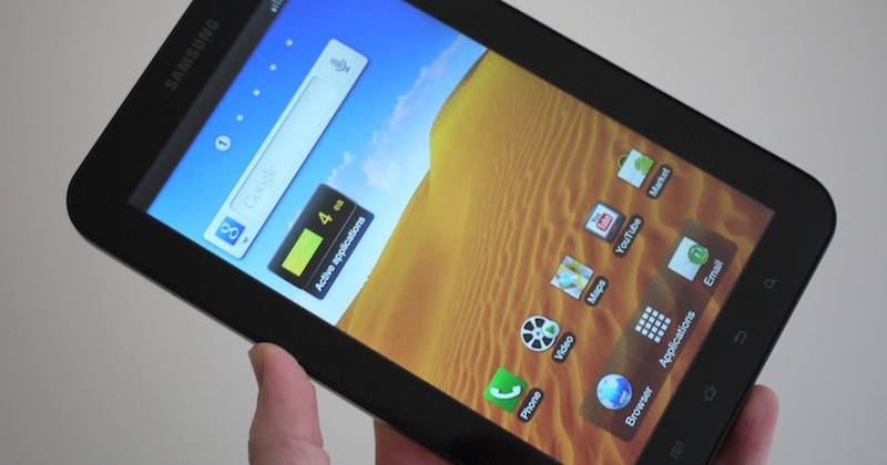 """Samsung: Galaxy Tab sales """"quite smooth"""" not """"quite small"""""""