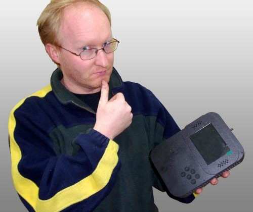 Ben Heck creates a smaller portable Sega CDX system