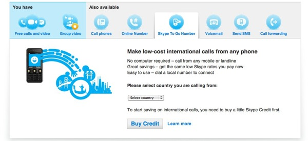 Skype To Go Lets You Make Calls From Any Phone No Need For Internet Slashgear