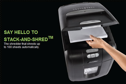 Swingline unveils Stack-and-Shred paper shredder