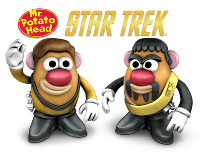 Star Trek Mr. Potato Heads Coming Summer 2011