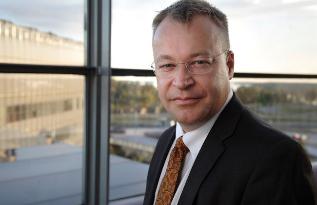 Nokia CEO Stephen Elop at MWC 2011