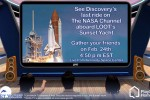 PlayStation Home users can watch space shuttle Discovery launch on Sunset Yacht