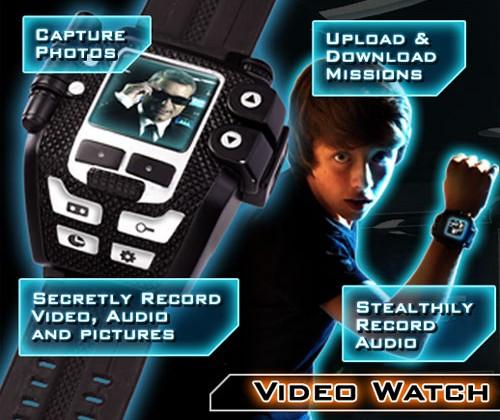 Spy Net Video Watch kids gadget will fit adults too