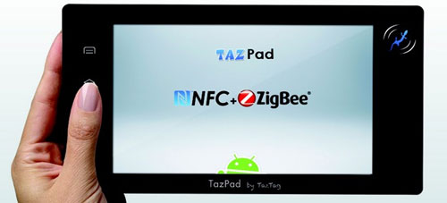 TazPad packs Android, NFC, and ZigBee for CeBIT 2011 debut