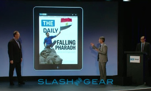 "The Daily gets official: iPad app for ""true news discovery"""