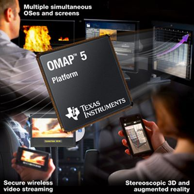 Texas Instruments' OMAP 5 may bring Minority Report UI to Reality