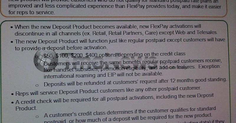 T-Mobile Discontinues FlexPay Option