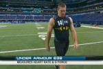 NFL Scouting combine uses Under Armor shirts with sensors