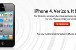 Verizon iPhone 4 up for pre-order
