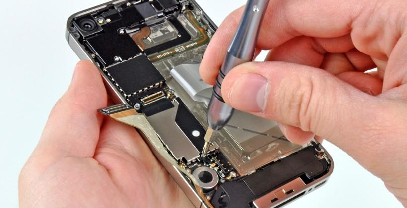 Verizon iPhone 4 teardown: World Phone CDMA/GSM radio inside