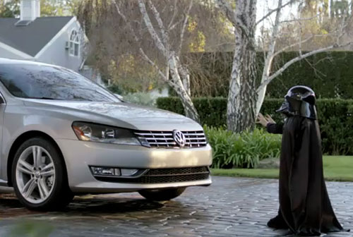 Pint-size Vader from Super Bowl VW commercial unmasked