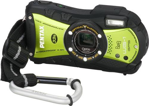 Pentax Optio WG-1 and WG-1 GPS digital cameras appear