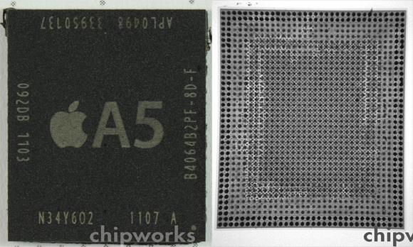 Apple A5 Processor Teardown Reveals Samsung Fabrication