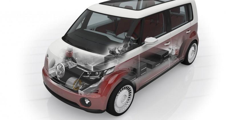 Volkswagon Bulli Concept, an iPad Microbus?