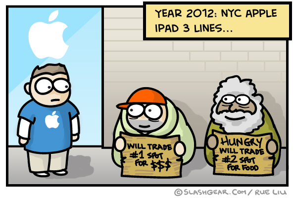 SG Comics Presents: NYC Apple iPad Lines