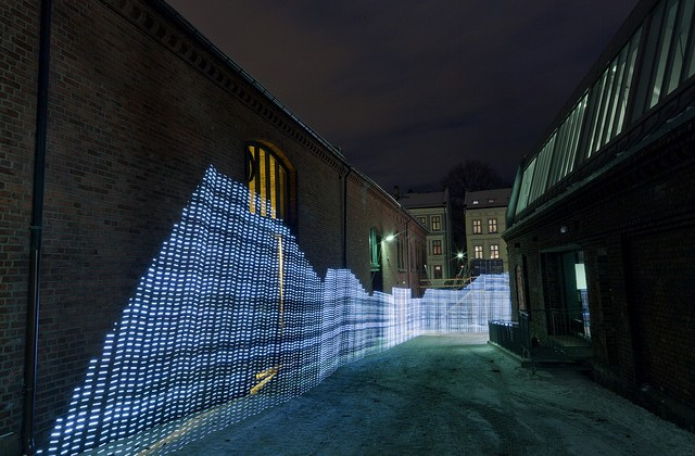 Light-Painting Visual Art Reveals WiFi Signal Topography