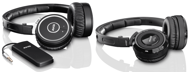 AKG K830BT and K840KL wireless headphones hedge bets with Bluetooth and Kleer