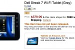 WiFi-only Dell Streak 7 pre-orders open