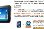 Samsung's WiFi-only Galaxy Tab priced and dated