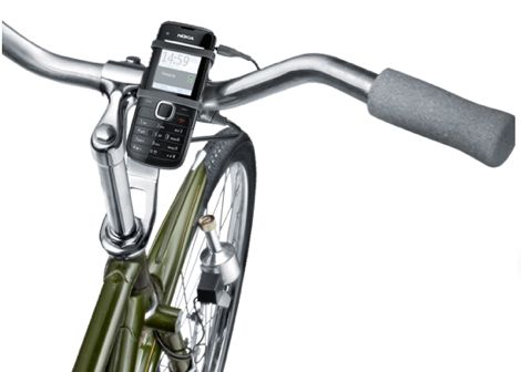 Nokia Phone Charger Works While You Ride Your Bicycle