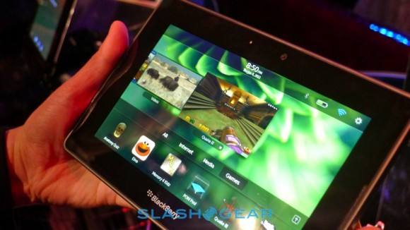 BlackBerry PlayBook video chat app work-in-progress admits exec