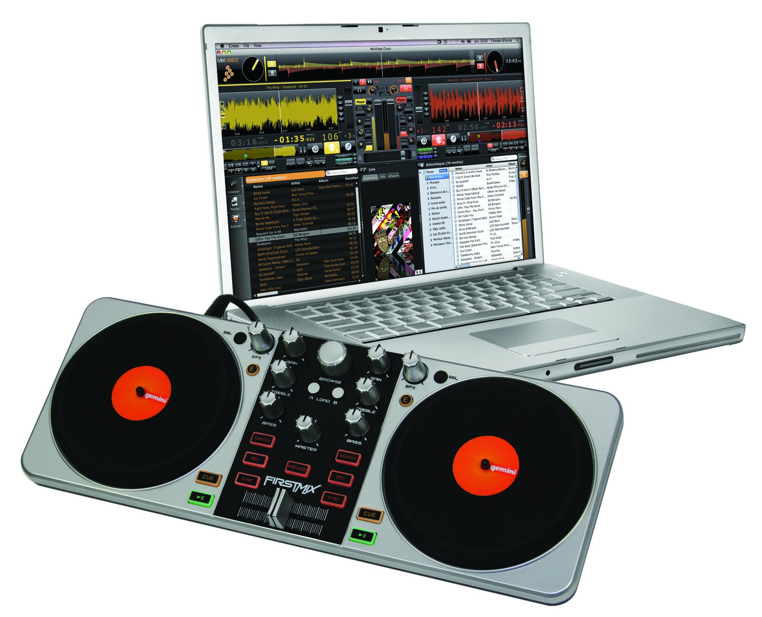 DJ TechTools - search for midi maps by DJ software and controller