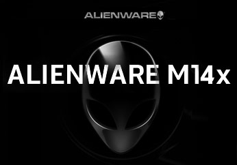 Alienware M14x details surface