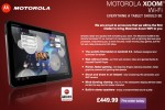 WiFi-only Motorola XOOM pricing confirmed