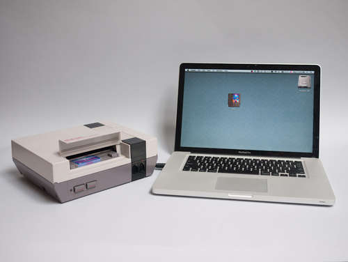 Instructables: Turn your borked NES into a flash drive