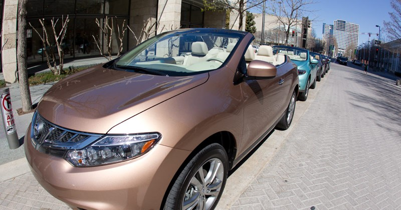 Nissan Murano CrossCabriolet First Drive