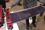 OS GSR-110B portable generator uses flexible solar panel [Video]