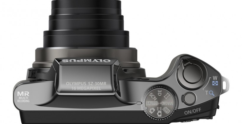 Olympus SZ-30MR shoots simultaneous 1080p HD video & 16MP stills