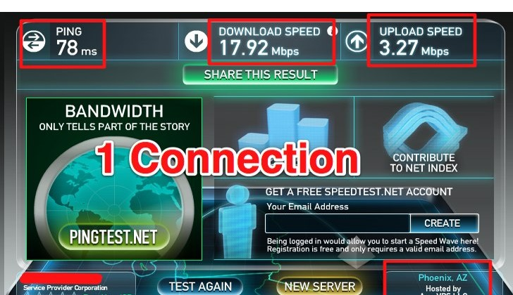 Speedtest.net - The Global Broadband Speed Test