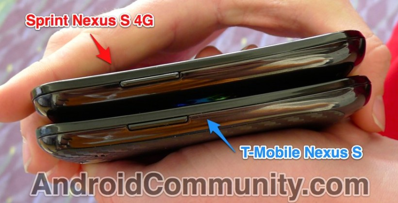 Sprint Nexus S 4G Found in the Wild by Android Community