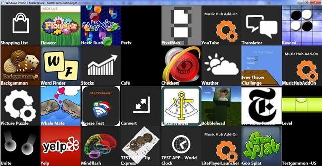 Windows Phone 7 App Marketplace Growing