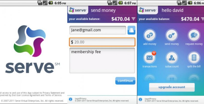 American Express Serve digital payments service launches with Android/iOS apps